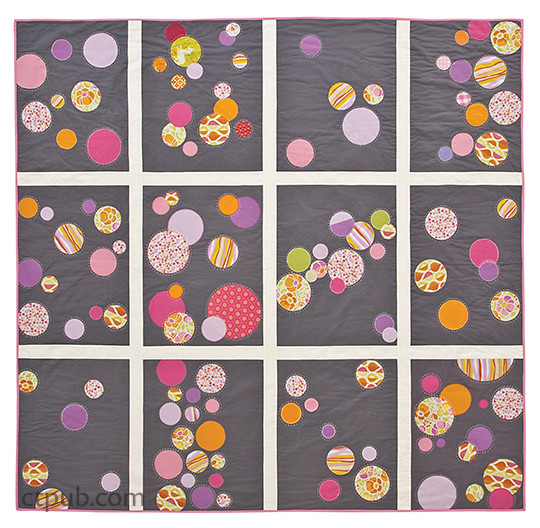 Quilt from Block Party - The Modern Quilting Bee