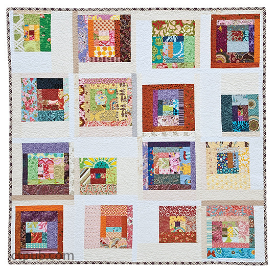 Quilt from Scrap Republic: 8 Quilt Projects for Those Who LOVE Color by Emily Cier
