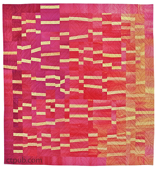 Beautiful Building Block Quilts: Create Improvisational Quilts from One Block • 8 Projects • Tips on Color by Lisa Walton