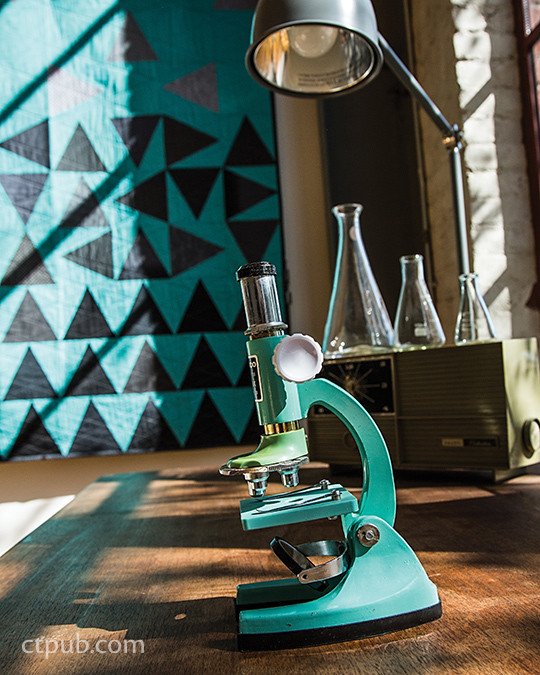 Project from Quilt Lab - The Creative Side of Science: 12 Clever Projects