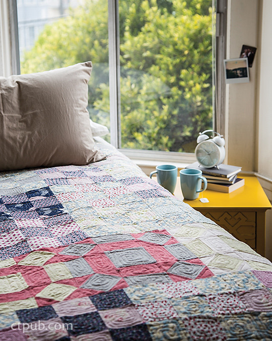 Project quilt from Make & Love Quilts eBook: Scrap Quilts for the 21st Century