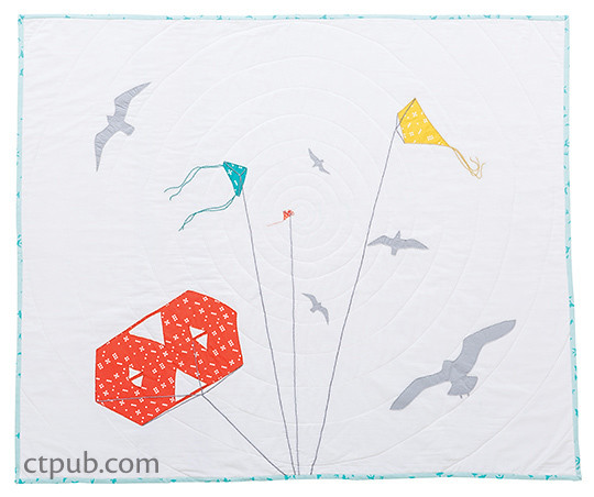 Quilt from Modern Applique Illusions: 12 Quilts Create Perspective & Depth
