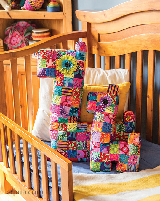 Project from Adventures in Fabric - La Todera Style: Sew 20 Projects for You & Your Home