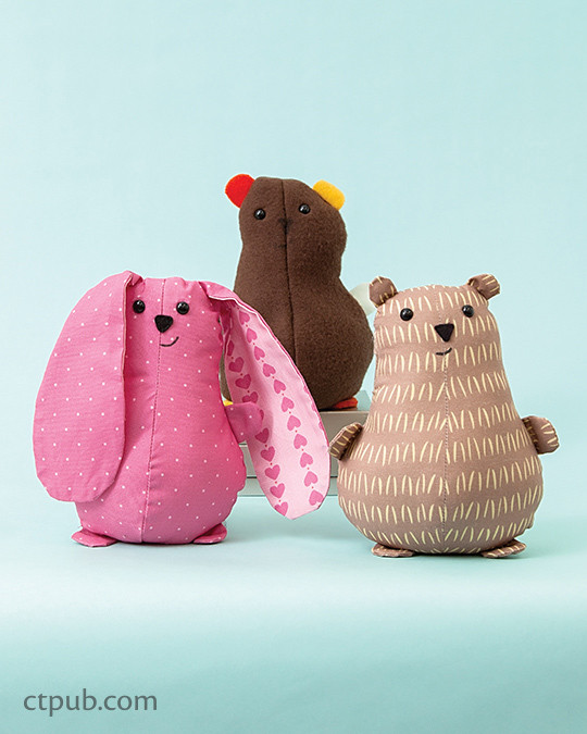 Fun project for kids from Creature Camp: Make Your Own * 18 Softies to Draw, Sew & Stuff by Wendi Gratz with Jo Gratz #CreatureCamp