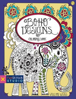 Boho Designs Coloring eBook