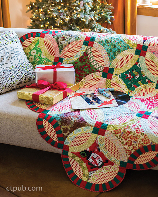 Project from Double Wedding Ring Quilts Traditions Made Modern by Victoria Findlay Wolfe