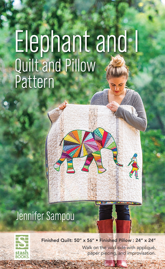 Elephant & I Quilt and Pillow Pattern