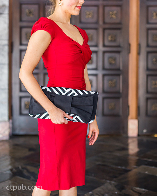 Sophisticated clutch bag from Boutique Bags: • Classic Style for Modern Living• 19 Projects • 76 Bags by Sue Kim #BoutiqueBags