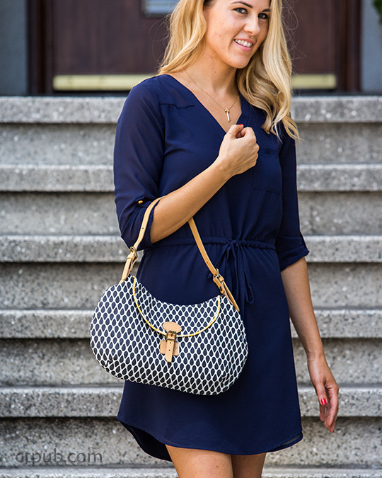 Stylish handbag from Boutique Bags: • Classic Style for Modern Living • 19 Projects • 76 Bags by Sue Kim #BoutiqueBags