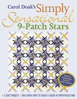 Carol Doak's Simply Sensational 9-Patch Stars Print-on-Demand Edition