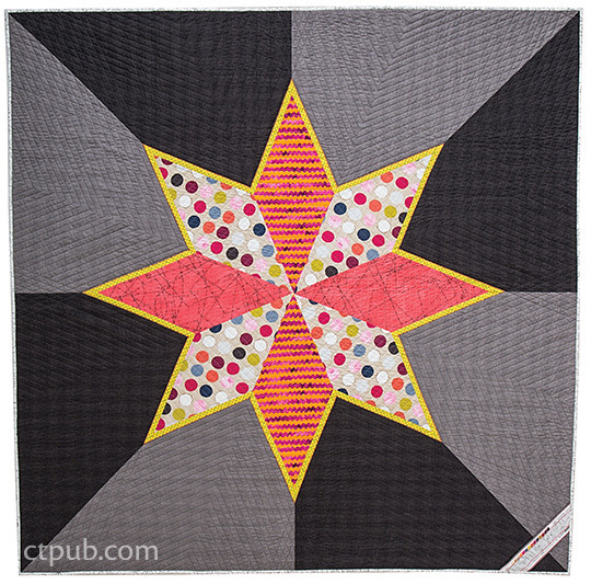 Grand LeMoyne Star Quilt by Jennifer Sampou