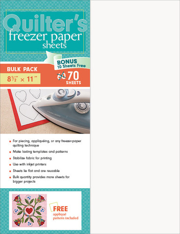 Quilter's Freezer Paper Sheets Bulk Pack