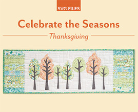 Celebrate the Seasons Thanksgiving SVG File