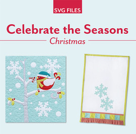 Celebrate the Seasons Christmas SVG File