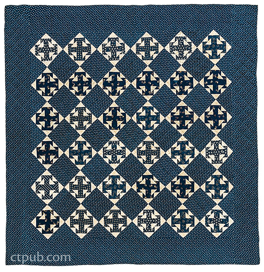 Indigo Quilts: 30 Quilts from the Poos Collection • History of Indigo • 5 Projects by Kay and Lori Lee Triplett