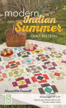 Modern Indian Summer Quilt Pattern by Sherri McConnell