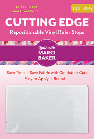 Cutting Edge - Repositionable Vinyl Ruler Stops by Marci Baker