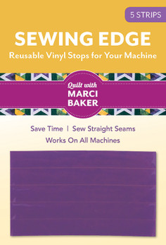 Sewing Edge - Reusable Vinyl Stops for Your Machine from Quilt with Marci Baker