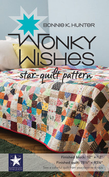Wonky Wishes StarQuilt Pattern
