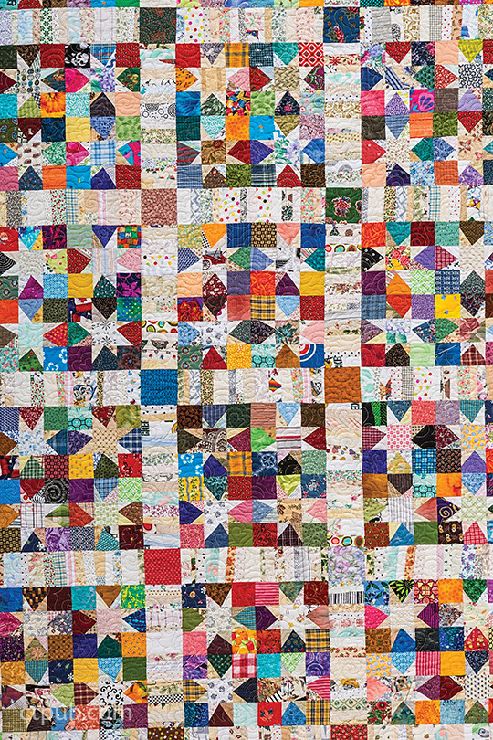 Wonky Wishes Star Quilt Pattern By Bonnie K Hunter