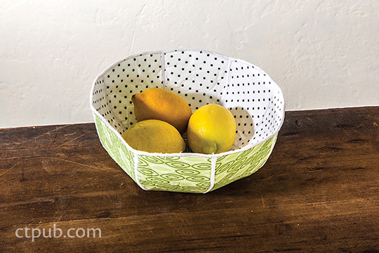 Favorite Fabric Bowls Boxes Vases 15 Quick To Make Projects 45