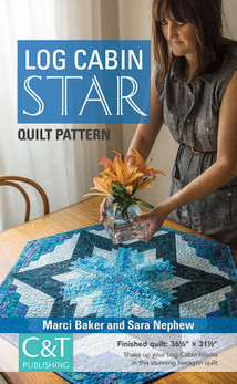 Log Cabin Star Quilt ePattern