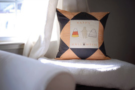 Free Tutorial: Halloween Pillows