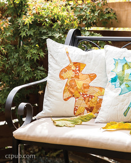 Fallen Leaves Throw Pillows Free Project