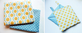 Fast & Easy Fat-Quarter Potholders Free Project