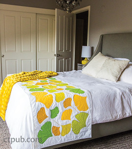 Gingko Bed Runner