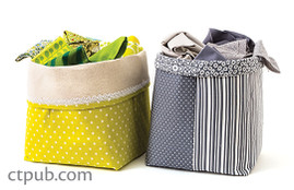 Free Project: Fabric Storage Boxes
