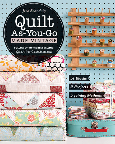 Quilt As You Go Made Vintage 51 Blocks 9 Projects 3