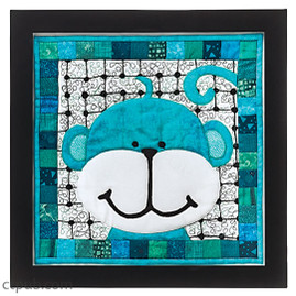 Monkey Picture from Playtime, Naptime, Anytime Quilts