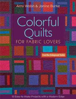 Colorful Quilts for Fabric Lovers Print-on-Demand Edition