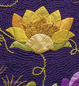 Lovely Water Lily Appliqué