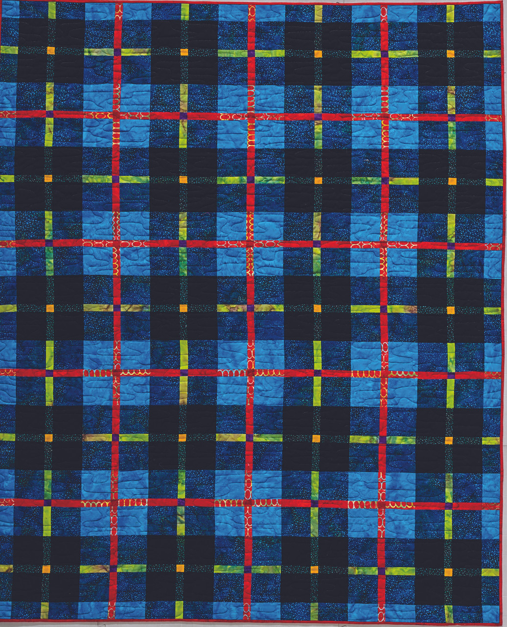 Do you love Outlander? Do you have Scottish heritage? Learn to make modern, graphic quilts based on the woven patterns of traditional tartans of Scotland!