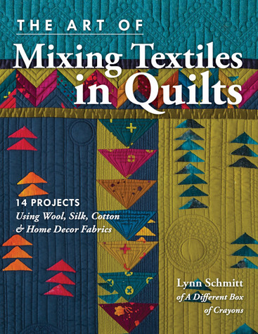 Have a ball blending cottons with rich wools, lustrous silks, and textural home decor fabrics for quilts that beg to be touched. Weave unconventional textiles together like a pro with the best advice for cutting, sewing, and pressing fabrics of texture and sheen. Craft 14 pieced and appliquéd projects, like table runners, quilts, pincushions, and tote bags. Dimensional