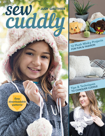 Learn to sew with plush fabrics and faux fur just as easily as any other substrate using Judy Gauthier expert tips! Keep velvety fabrics from stretching and shedding, plus discover how to appliqué, add binding, and insert a zipper as you sew useful, stylish accessories, quilts, home decor, and cool gifts for kids, all from minky cuddle fabrics. Twelve projects include fashionable animal hats, a clutch purse, a sleeping bag, and a vintage-inspired fox stole.