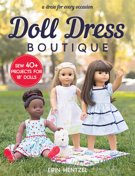 Classic A-lines, sleeveless summer dresses, and party frocks—learn to sew eighteen-inch doll dresses for every occasion. This huge collection of over forty miniature dress designs includes twenty-eight complete dress patterns, plus thirteen bonus looks created from mix-and-match elements. Richly photographed stylish dress projects are paired with plenty of sewing tutorials aimed at intermediate and advanced doll dressmakers. With princess seams, pretty pockets, and a variety of necklines, dressing up your doll has never been so much fun!