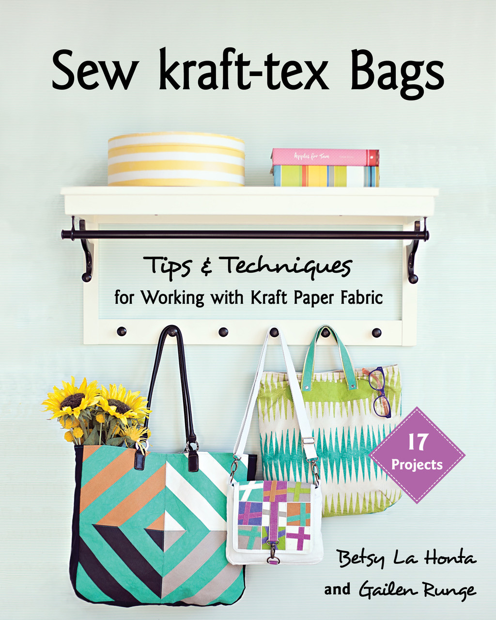 It's the hot new substrate that wears like leather but sews up like fabric—create more with kraft-tex! This game-changing material is the perfect accent for wallets, totes, and purses. Experts Betsy LaHonta and Gailen Runge teach you everything about sewing with kraft-tex. Get your needle know-how, sew the right seam allowances, and practice turning techniques. Popular bag designers share 19 patterns for all skill levels, from a simple clutch to a roomy travel bag.