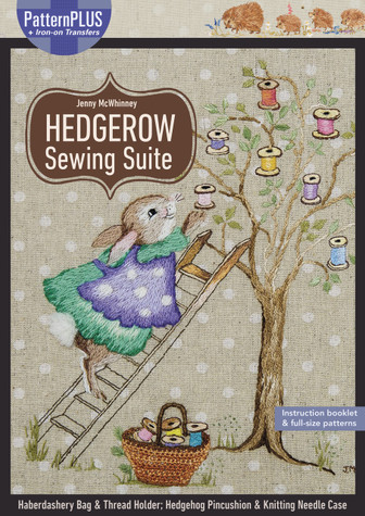Sew four delightful zakka-style projects to help corral sewing and knitting supplies, including a sewing bag with an adorable spool tree motif, a drawstring thread holder adorned with little colorful spools, a hedgehog-themed pincushion, and a knitting needle holder. The PatternPLUS pack includes instructions, iron-on transfer, patterns, and motifs for all four projects, so you can easily mark your designs and get stitching.