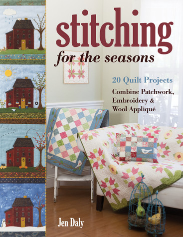 Winter, spring, summer, fall—make your home warm and inviting with pretty quilts for the seasons from author Jen Daly. Sew tweny quilted home decor projects from quilts and table runners to wallhangings and pillows. With a suite of patterns for each season, you'll combine colorful cottons, luscious wool appliqué, and simple hand stitching when sewing for the home. A variety of techniques from patchwork to paper piecing and raw-edge appliqué will keep you inspired to sew all year long.