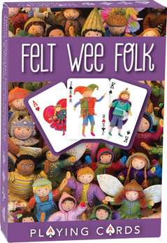 Felt Wee Folk Playing Cards