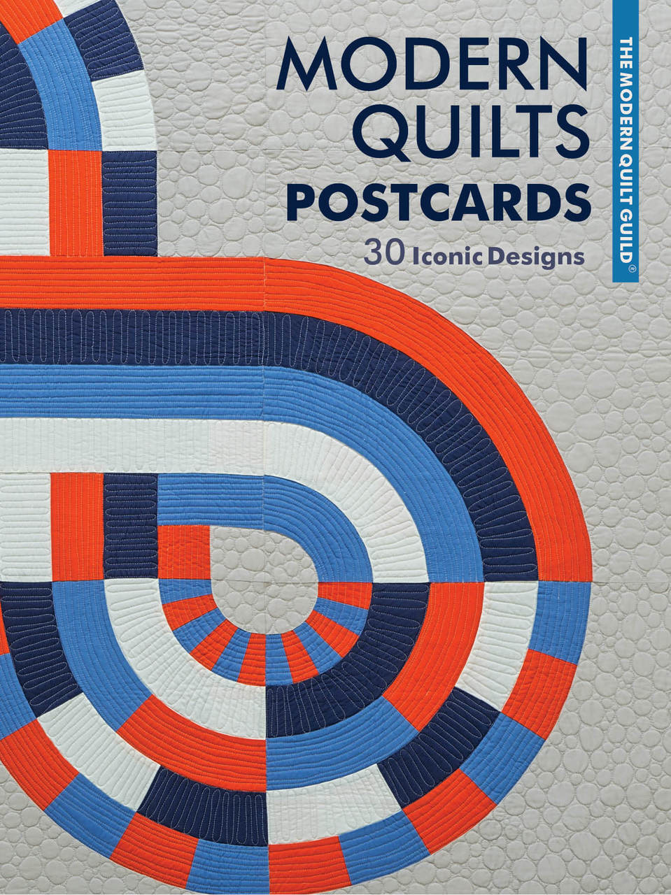 From the talented quilters of the Modern Quilt Guild comes this set of thirty postcards, featuring beautiful images from the best-selling book Modern Quilts: Designs of the New Century. Each postcard showcases a quilt by a different artist, including Maritza Soto, Shannon Page, Kari Anderson, and many others. Send the cards to friends and family or keep them for yourself! The set makes a wonderful gift for anyone, but especially for quilters and art lovers.