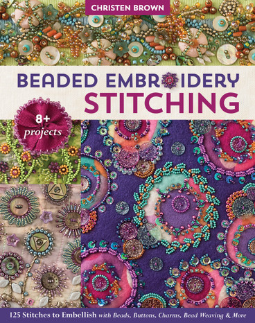 Add dimension and luster to your sewing projects with 125 decorative bead embroidery and bead woven stitches! Embellish 8 stunning projects from bedazzled jewelry to wallhangings and a sewing caddy. Search both the complete visual guide (with stitches organized by type) and the A-to-Z stitch index for easy reference. A robust gallery of features beaded creations in a variety of skill levels, perfect for embroiderers, craft sewists, crazy quilters, mixed media artists, and jewelry makers.