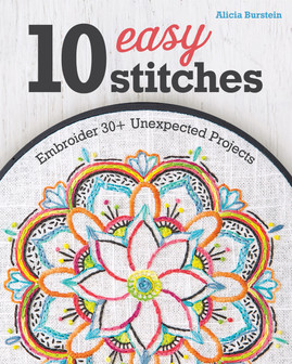Get your creative juices flowing with the 10 easiest and most popular hand embroidery stitches! Learn how easy it is to stitch on unconventional materials like canvas tennis shoes, a denim skirt, or leather bracelets. Each stitch has clear instructions so you can embroider 30 unique projects to wear, use, and display. Change up the patterns to fit your unique style, with super-fast designs for the impatient sewist and dazzling motifs for slow stitchers.