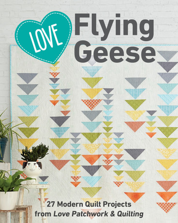 From the editors of Love Patchwork & Quilting comes this collection of bright, bold projects that show off the ever-popular Flying Geese block in ways both expected and innovative, resulting in wonderful array of motifs and looks. With designs ranging in size and complexity from a pillow and wallhangings to bed-sized quilts, this project-stuffed book is an easy and affordable way to own stylish patterns from the best-selling modern quilting magazine in the United Kingdom.