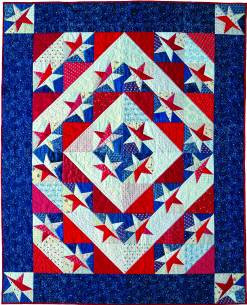 """Shakespeare knew it when he said, """"""""The play's the thing."""""""" Judy Martin knew it when she decided to write Piece 'n' Play Quilts. Now you can find out for yourself: It really is more fun and more satisfying when you can follow a pattern and yet achieve your own unique look by playing with the arrangement of the blocks. Each of the 12 patterns comes with full-size pattern pieces with grain arrows and trimmed points. 11 of the patterns are presented with accurate rotary instructions and illustrated cutting layouts. The 12th pattern (Steve's Star) is presented with paper foundation piecing. You can't fail to make a beautiful quilt every time you sit down and play with Piece 'n' Play Quilts. Quilters have been playing with blocks ever since the first Log Cabin was stitched, but Piece 'n' Play Quilts is far more than just Log Cabins. Any asymmetrical block that makes secondary patterns when turned in different directions is a Piece 'n' Play quilt. Drunkard's Paths, Fans, and Rail Fences lend themselves perfectly to Piece 'n' Play fun. In this book Judy Martin has designed some fabulously simple variations on these tried and true favorites. Isn't it time you made a play date with Piece 'n' Play Quilts?"""