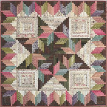 """Judy Martin's Log Cabin Quilt Book would be a great book even if it had nothing other than its 16 beautiful quilt patterns. But there's more, so much more. An entire chapter is devoted to borders, complete withæ17 sumptuous photographed examples and 16 illustrations of borders you can add to your Log Cabin quilt. Another heavily illustrated chapter discusses the many possibilities for settings. Judy shows numerous photographic examples and then goes on to provide 66 illustrations of sets you can use for almost any Log Cabin. A chapter is given over to how to quilt Log Cabins, complete with mouth-watering closeup photographs. Judy provides inspiration and information for quilting your Log Cabin your way. You'll find a conversion chart that enables you to change the width of the logs you use. If Judy used a 1"""""""" finished log and you want to make the quilt with a 1-1/2"""""""" log, you can do it as easily as you can turn a page. Other important sections discuss the importance of light and dark values in your fabric selection for a Log Cabin; how to achieve a perfect seam allowance; how to press seams; why cutting lengthwise strips is so important for Log Cabins; how to cut lengthwise strips; how to keep track of logs of varying lengths; and much, much more. See for yourself why quilters who want to get serious about making beautiful quilts turn to Judy Martin again and again. Judy MartinÍs Log Cabin Quilt Book will inspire you to make great quilts!"""