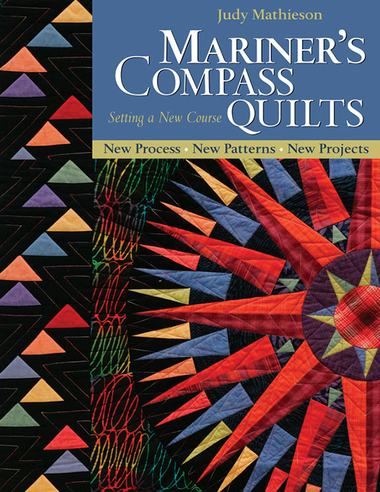 Mariner's Compass Quilts Setting A New Course PrintonDemand Amazing Mariners Compass Quilt Pattern